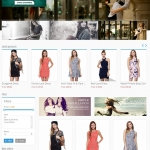 Reponsive template for Fashion Shop