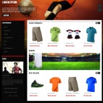 Reponsive template for Online shop