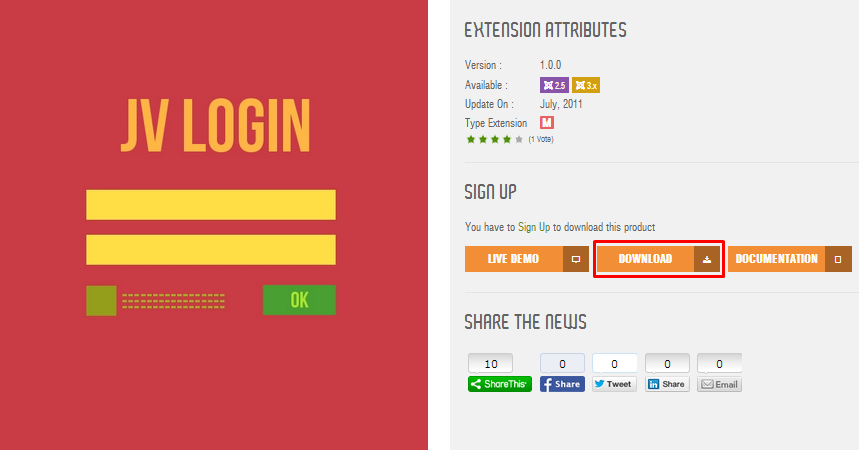 login module overview