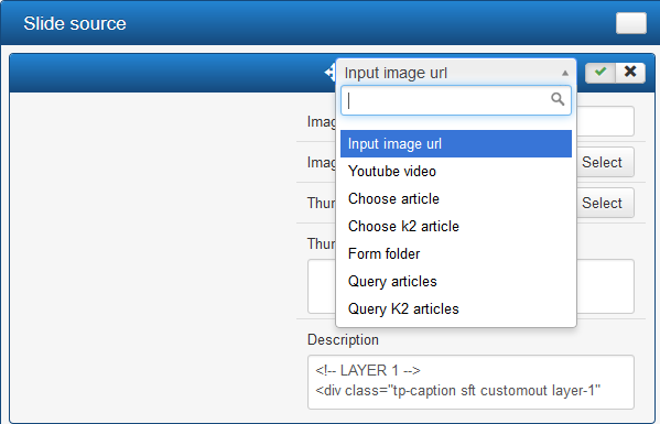 slide source config