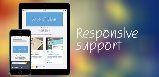 responsive suport