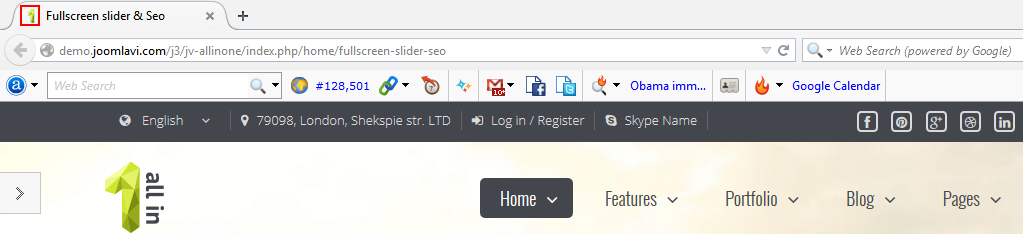 edit favicon in joomla site