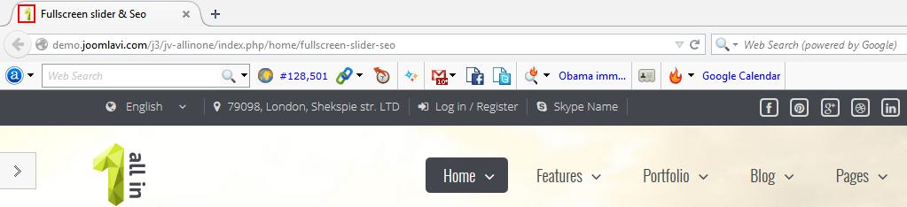 edit favicon in joomla site