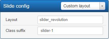 customize template