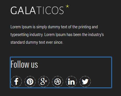 module follow us