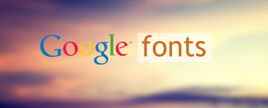 support google fonts