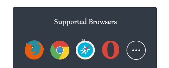 full browser compatibility