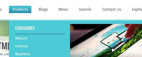 joomla 3 template supports megamenu