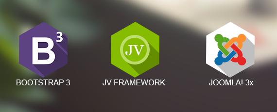 Bootstap 3, JV Framework, Joomla! 3