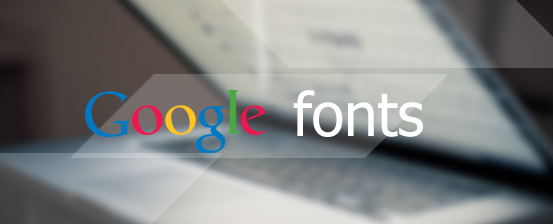 template supports google fonts