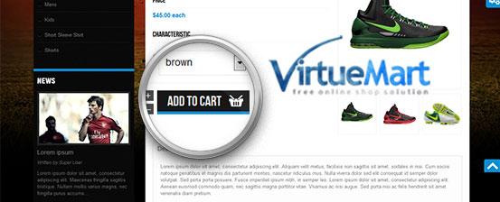joomla template supports virtuemart