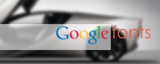 support google fonts