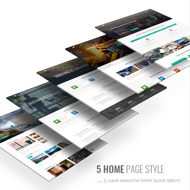 5 home page